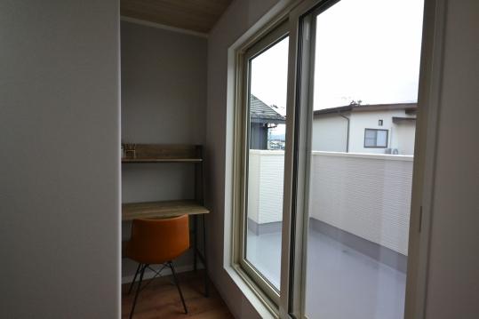 書斎スペース  一人の空間を楽しめます。