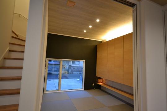 和室 間接照明を使った落ちつきのある空間
