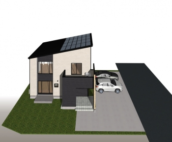 ・太陽光+蓄電池搭載のゼッチ仕様住宅。光熱費実質0円の実現も可能です。
