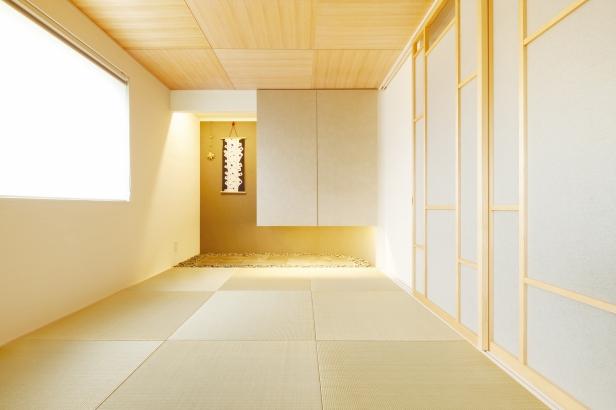 ORKS|ナチュラルな北欧モダンスタイルの家|和室