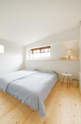 ORKS|ナチュラルな北欧モダンスタイルの家|主寝室