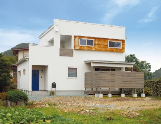 ORKS|ナチュラルな北欧モダンスタイルの家|外観