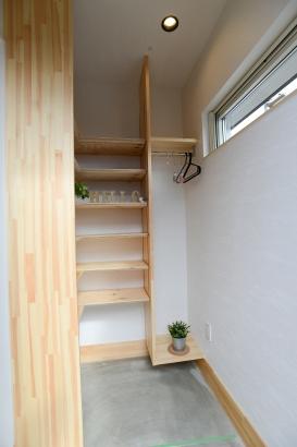 美・中川工務店 Lの家 玄関