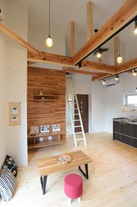 美・中川工務店 Lの家 リビング