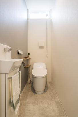 落ち着きのあるトイレ