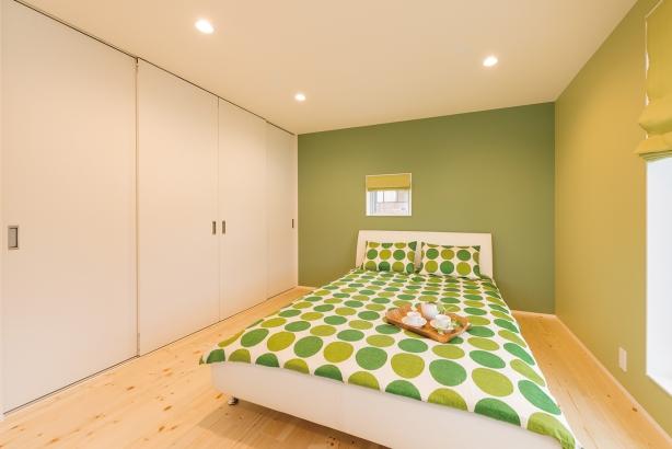 櫻井建設│ゼロ・エネ&パッシブな家│寝室