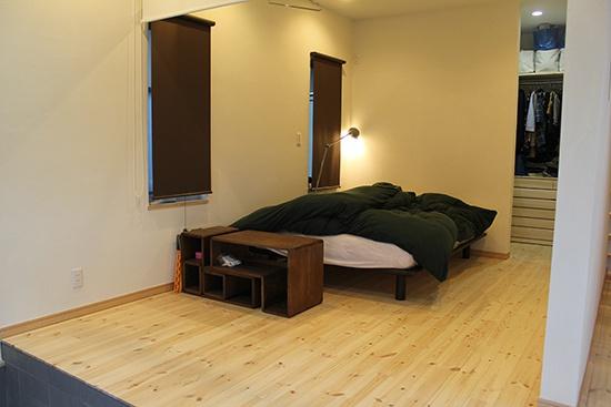 BIRTH HOME│コンパクトオープンハウス│寝室