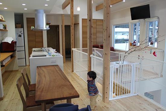 BIRTH HOME│コンパクトオープンハウス│LDK