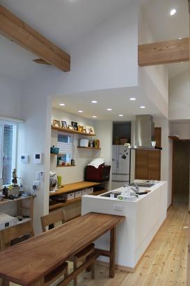 BIRTH HOME│コンパクトオープンハウス│ダイニングキッチン