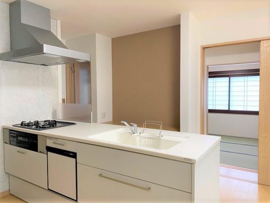 戸建リノベ|キッチン